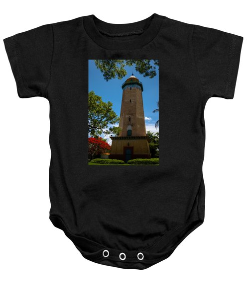 Alhambra Water Tower Of Coral Gables Baby Onesie