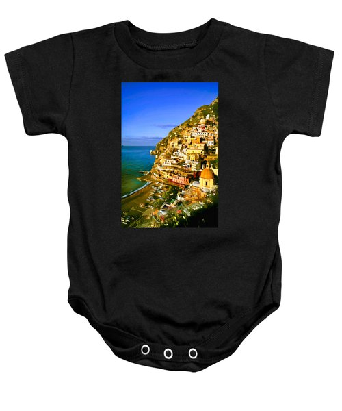 Along The Amalfi Coast Baby Onesie