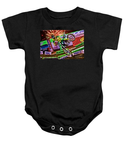 Ama 450sx Supercross Chad Reed Baby Onesie
