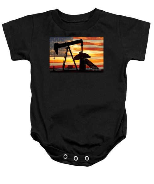 American Oil  Baby Onesie