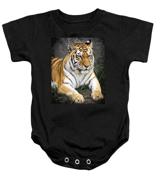 Amur Tiger Baby Onesie