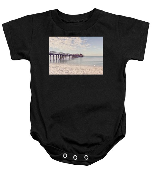 An Early Morning - Naples Pier Baby Onesie