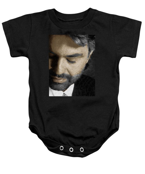 Andrea Bocelli And Vertical Baby Onesie