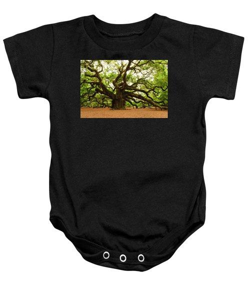 Angel Oak Tree 2009 Baby Onesie
