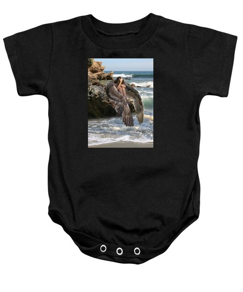 Angels- God Has Sent His Spirit To Comfort You And Heal You Baby Onesie
