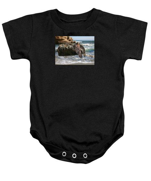 Angels- Shhh Stand Still And Be Quiet Baby Onesie