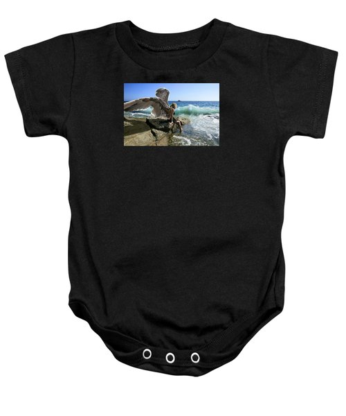 Angels- Yes I'm With You Baby Onesie