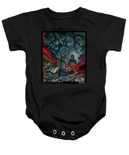 Anger Only Feeds The Monster Inside You Baby Onesie