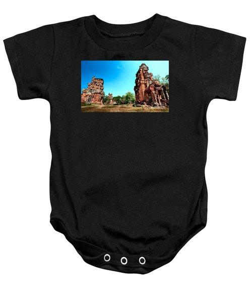 Angkor Wat Ruins Baby Onesie