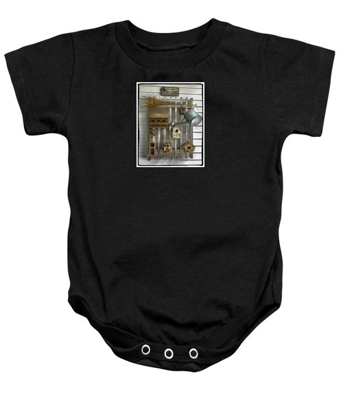 Another Day In Paradise Baby Onesie