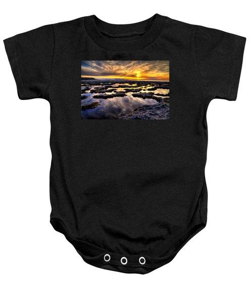 Antelope Sunset Baby Onesie