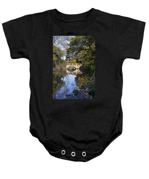 Arboretum Drive Bridge - Madison - Wisconsin Baby Onesie