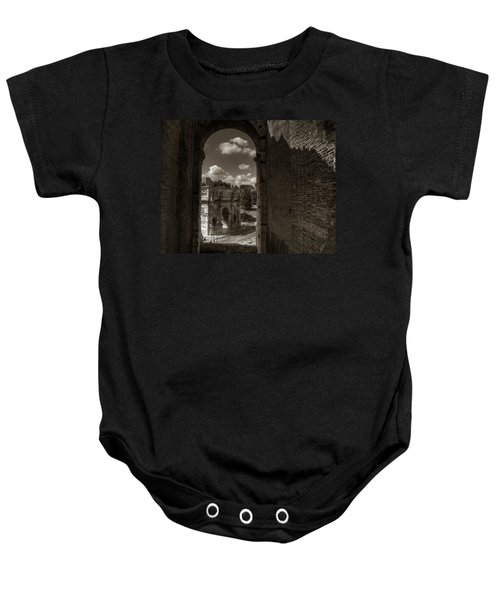 Arch Of Constantine From The Colosseum Baby Onesie