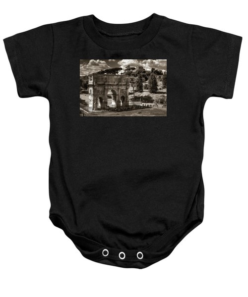 Arch Of Contantine Baby Onesie
