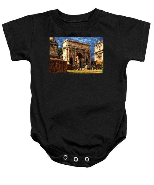 Arch Of Septimius Severus Baby Onesie