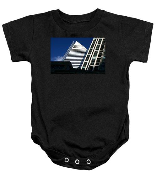 Architectural Pyramid Baby Onesie