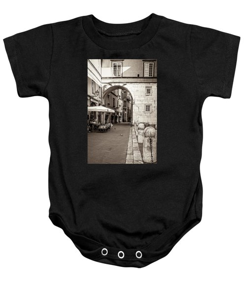 Archway Over Street Baby Onesie
