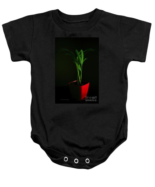 Areca Palm Baby Onesie