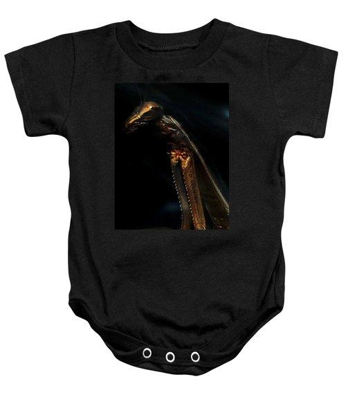 Armored Praying Mantis Baby Onesie