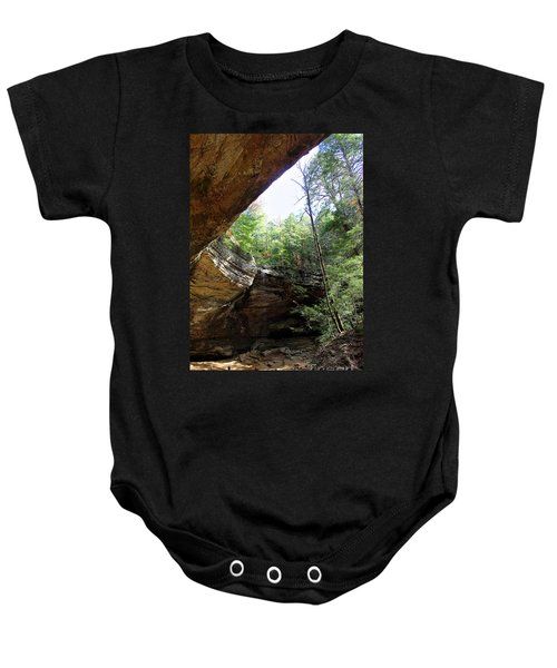 Ash Cave Of The Hocking Hills Baby Onesie