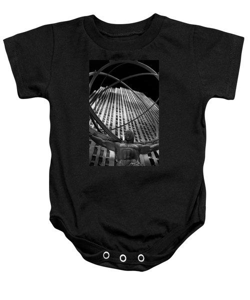 Atlas Rockefeller Center Baby Onesie