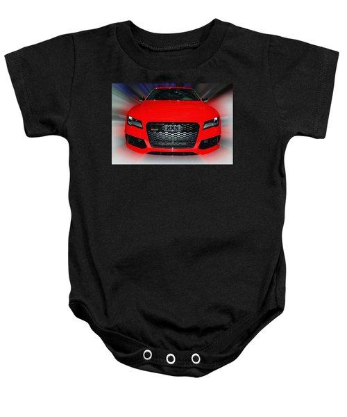 Audi Quattro Rs7 2014 Baby Onesie