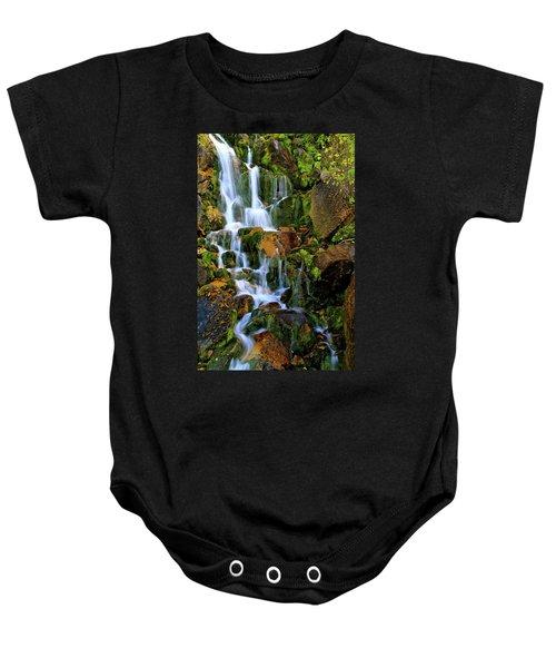 Autumn Along Summit Creek Baby Onesie