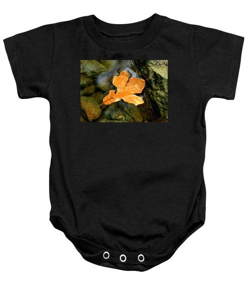 Autumn Gold Baby Onesie