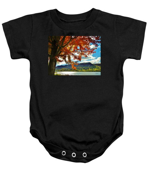 Autumn In Minnesota Baby Onesie