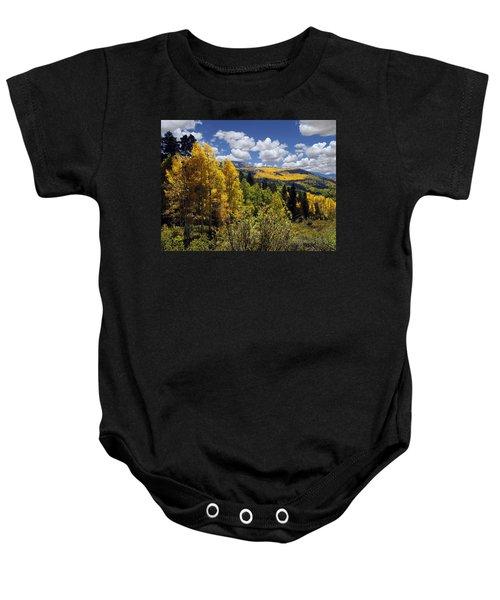 Autumn In New Mexico Baby Onesie