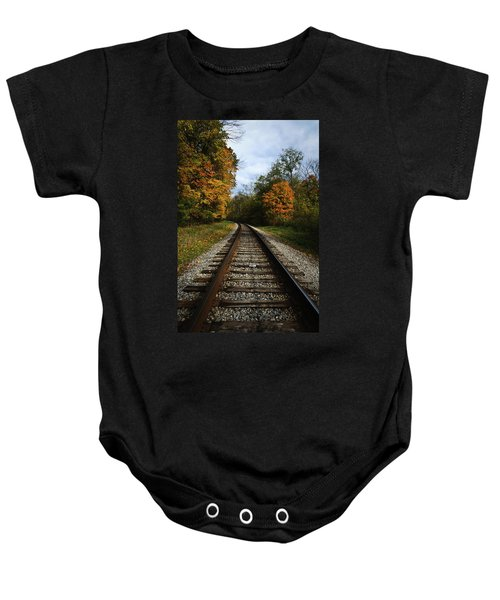 Autumn View Baby Onesie