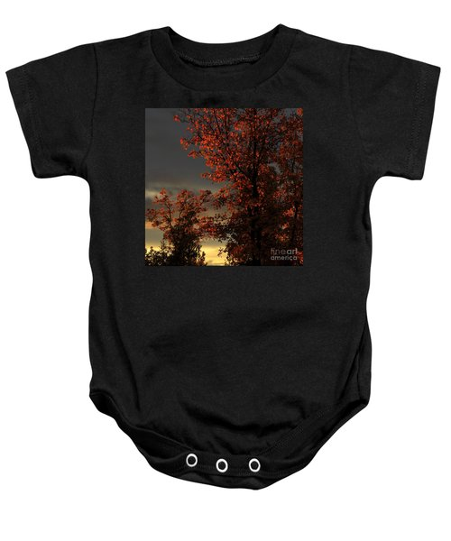 Autumn's First Light Baby Onesie