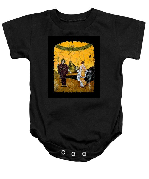 Bacchus And Flora Baby Onesie