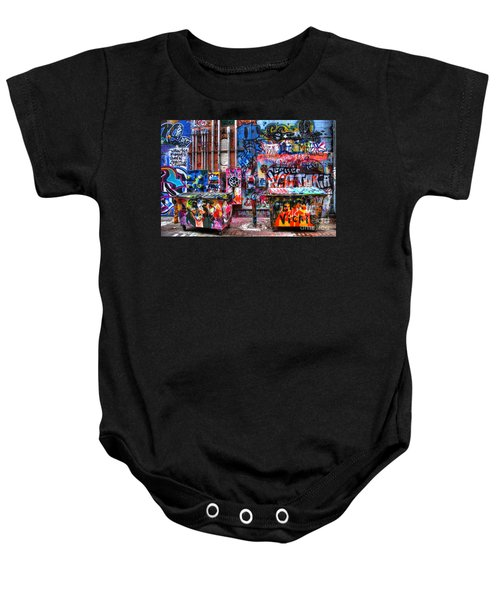 Back Alley Canvas Baby Onesie