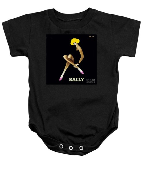 Bally Shoes Baby Onesie