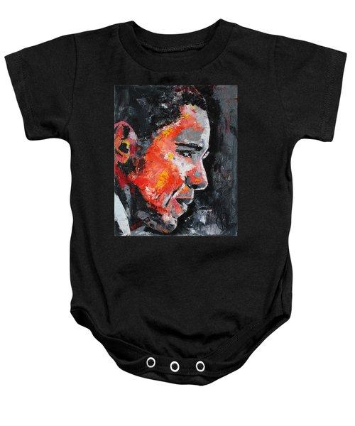 Barack Obama Baby Onesie by Richard Day