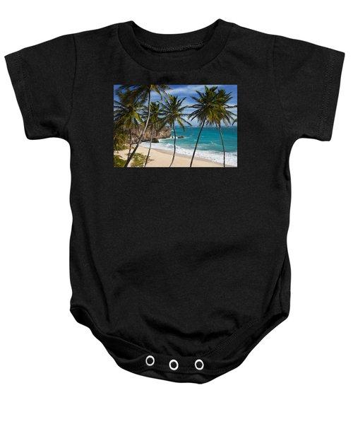 Barbados Beach Baby Onesie