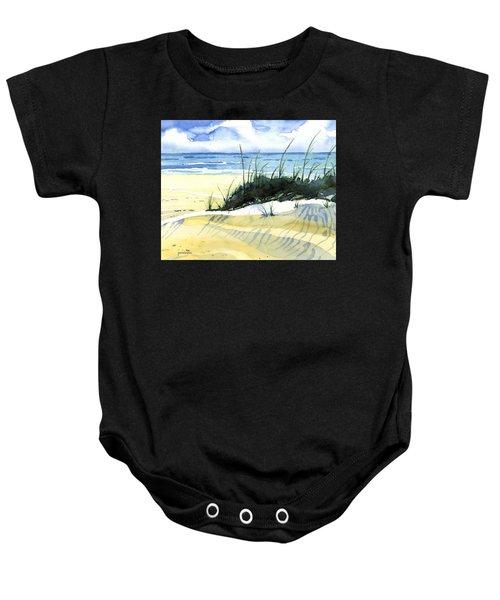 Beach Dunes Baby Onesie