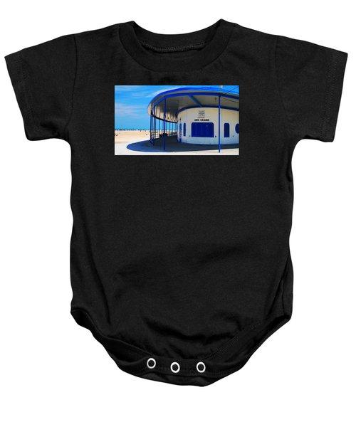 Beach House Baby Onesie