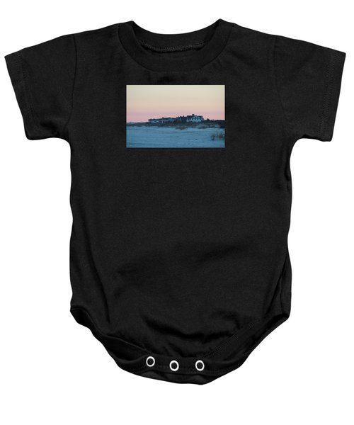 Beach Houses Baby Onesie
