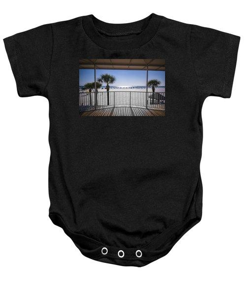 Beach Patio Baby Onesie