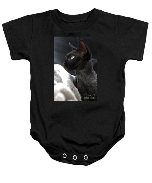 Beauty Of The Rex Cat Baby Onesie
