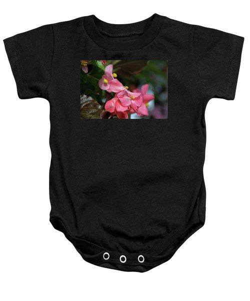 Begonia Beauty Baby Onesie