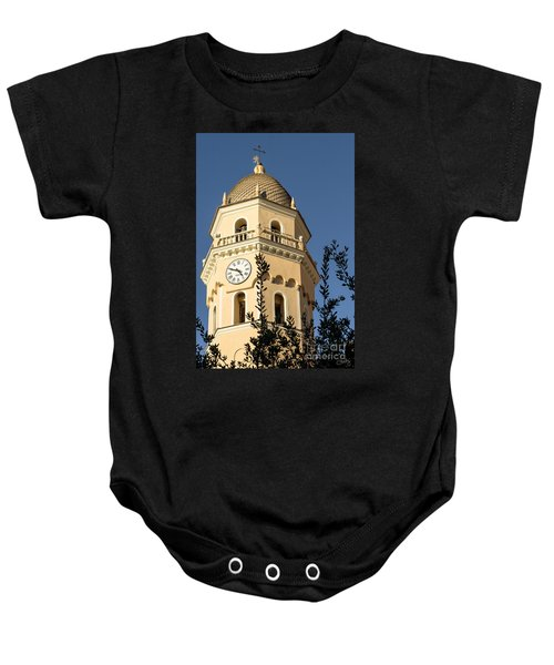 Bell Tower Of Vernazza Baby Onesie