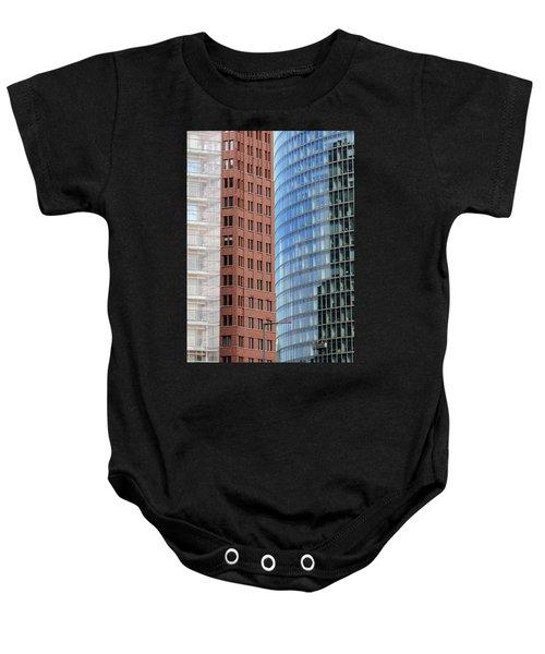 Berlin Buildings Detail Baby Onesie