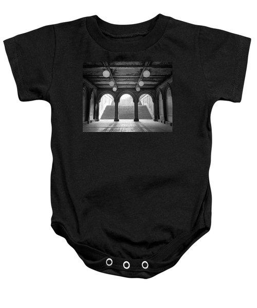 Bethesda Passage Central Park Baby Onesie
