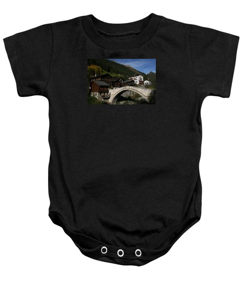 Baby Onesie featuring the photograph Binn by Travel Pics