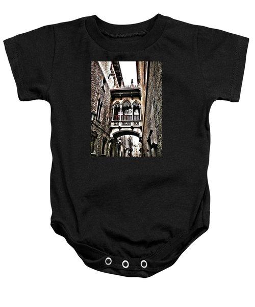 Bishop's Street - Barcelona Baby Onesie