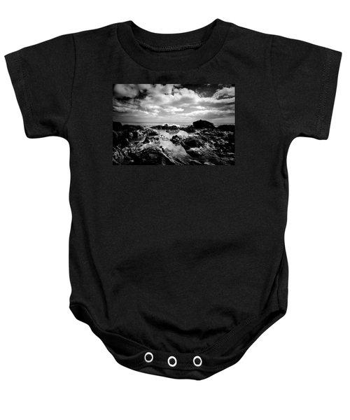 Black Rocks 1 Baby Onesie