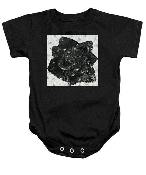 Black Rose I Baby Onesie